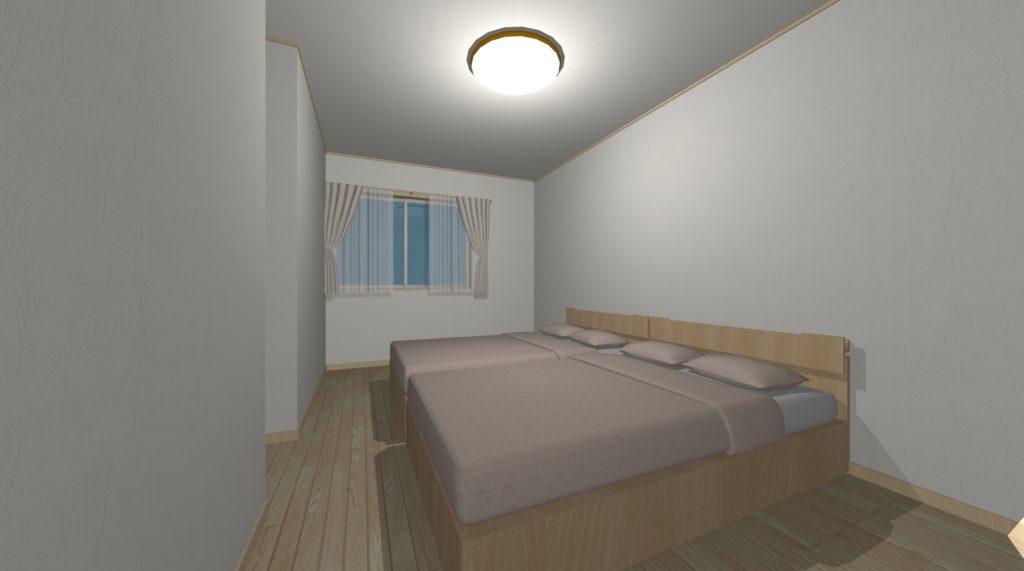 一般的な寝室