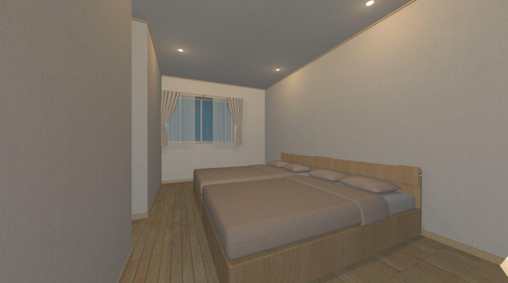 寝室にはNGな照明配置